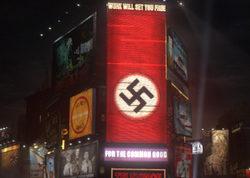 Polémica en New York por la promoción de 'Man in the High Castle' con símbolos nazis