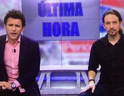 Pablo Iglesias, de candidato presidencial a presentador de informativos en el casting de 'El programa de AR'