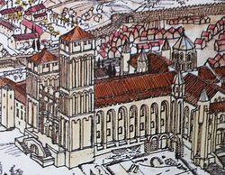 La 1 prepara 'El final del Camino', una serie histórica ambientada en la construcción de la Catedral de Santiago