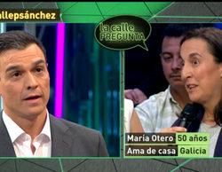 Una ciudadana pone a Pedro Sánchez (PSOE) en un apuro en 'laSexta Noche'