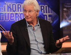 Richard Gere, entra en el ranking de las emisiones más vistas en la historia de 'El hormiguero'