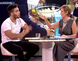 Tensa entrevista de Mercedes Milá a Ricky, último expulsado de 'GH16'