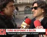 """Toño Sanchís en 'El programa de AR': """"No voy a demandar a Belén Esteban ni me voy a sentar en un plató a hablar mal de ella"""""""