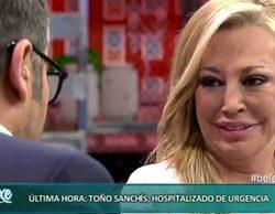 Jorge Javier Vázquez responde: ¿ha sido la noticia de la hospitalización de Toño Sanchís una estrategia contra 'TCMS'?