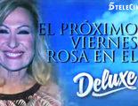 Rosa Benito vuelve a 'Sálvame deluxe' el próximo viernes 11 de diciembre