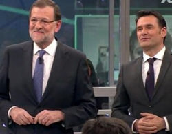 'laSexta noche' registra un impresionante 13,4% con la 1ª visita de Rajoy a la cadena