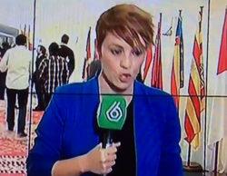 """La pillada de Cristina Pardo, en pleno directo, en 'laSexta noticias': """"Joder, no me liéis"""""""