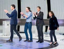 Los televisivos se posicionan y satirizan a los candidatos durante la emisión del '7D: el debate decisivo'