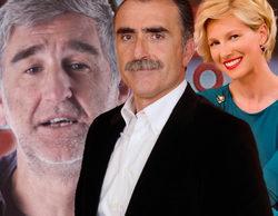 Juan y Medio, Anne Igartiburu y López Iturriaga, presentadores de la gala 'Inocente, Inocente' 2015