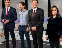 '7D: El debate decisivo' de Atresmedia TV (48,2%) se alza como lo más visto de 2015 con más de 9,2 millones