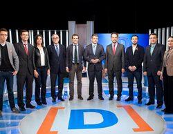 Polémica en el debate de La 1: corte de sonido en el tema Bárcenas y desafortunadas declaraciones de Ciudadanos