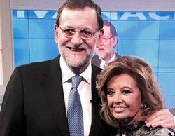 """Mariano Rajoy en 'QTTF': """"Es positivo que Podemos esté en las instituciones y no en la Puerta del Sol"""""""