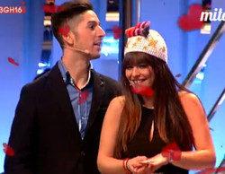 Lester le pide matrimonio a Marta en 'Gran Hermano: el debate'