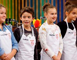 Covadonga, Lukas, María y Martina son los finalistas de la tercera edición de 'MasterChef Junior'