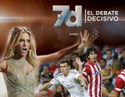 Los 50 espacios televisivos más vistos del 2015: la Champions, Eurovisión y el debate de Atresmedia encabezan la lista