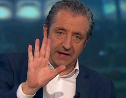 """Fuerte enfrentamiento de Josep Pedrerol con un espectador en 'El chiringuito de Jugones': """"¡Aquí no manipulamos nada!"""""""