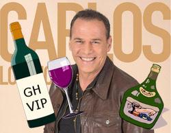 """Acusan a Carlos Lozano de haber 'robado' alcohol en 'GH VIP': """"No soy un alcohólico"""""""