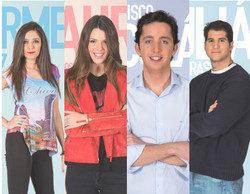 Laura, Carmen, Fran Nicolás y Julián, primeros nominados de 'Gran Hermano VIP 4'