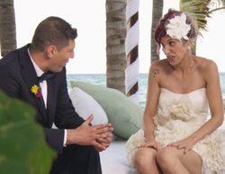 La familia de Andrea rechaza ir a su boda en la segunda entrega de 'Casados a primera vista', donde llegó la primera boda gay