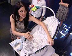 Así fue el regreso de Pilar Rubio a 'El hormiguero' tras su baja por maternidad