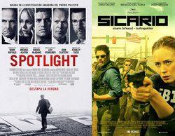 """Mediaset suma las nominaciones a los Oscar de """"Spotlight"""" y """"Sicario"""", películas que estrenarán TVE o Atresmedia"""