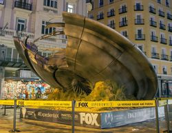 El impacto de un OVNI en Madrid coincide con el estreno de los nuevos capítulos de 'Expediente X'
