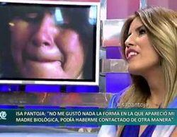 """Chabelita, sobre su madre biológica en 'Sálvame deluxe': """"No puede venir así e irrumpir en mi vida"""""""