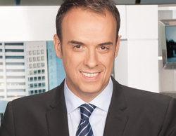 Jesús Pascual se atraganta mientras narraba los deportes de 'Informativos Telecinco'