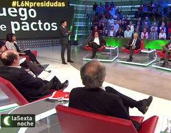 Los pactos electorales elevan a 'laSexta noche' hasta un magnífico 12,7%