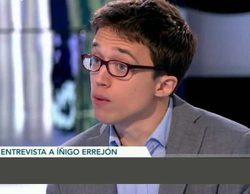 'El objetivo', con Iñigo Errejón, sube a un estupendo 10,2% y gana por primera vez a 'El Xef' (8,4%)