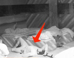 Susto en 'Gran Hermano VIP': Julián Contreras se cae de la cama y arma un escándalo en mitad de la noche