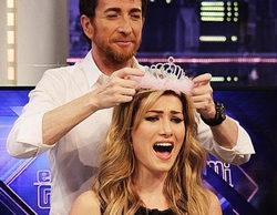 """La Miss Universo Mireia Lalaguna sorprende en 'El hormiguero' con lapsus y """"trampas"""""""