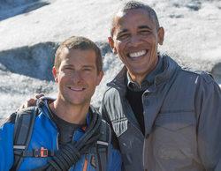 Discovery Channel estrena la nueva temporada de 'Famosos en peligro con Bear Grylls' con Obama el martes 2 de febrero
