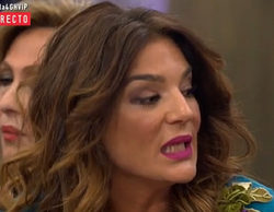 Bronca entre Raquel Bollo y Carlos Lozano en el directo de 'Gran Hermano VIP 4'