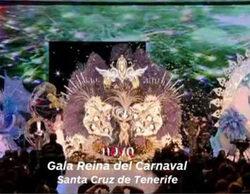 'El cascabel' (4,1%) y la elección de la Reina del Carnaval de Santa Cruz de Tenerife (2,9%) destacan en prime time