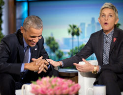 Ellen DeGeneres agradece a Obama su apoyo al colectivo homosexual en su programa
