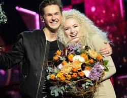 David Lindgren y Wiktoria, ganadores de la segunda semifinal del Melodifestivalen 2016
