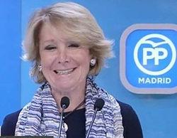 """Esperanza Aguirre asegura la audiencia esta noche a 'Salvados': """"Ve el programa de Évole y a lo mejor..."""""""