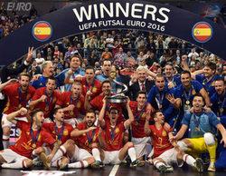 El partido de la Eurocopa entre España y Rusia arrasa en Mega con un 4,5%