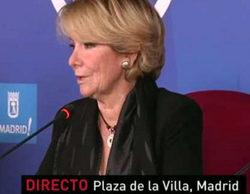 """Esperanza Aguirre llama """"secta"""" a laSexta, provocando el cabreo de Ferreras en 'Al rojo vivo'"""