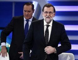 Mariano Rajoy dispara a 'El cascabel' (5,4%), que roza el millón de espectadores