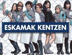 La serie 'Eskamak kentzen' se estrena con éxito en ETB1 tras triplicar la media del canal