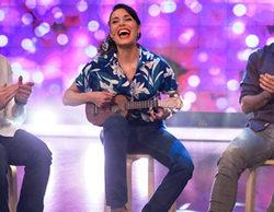 Pilar Rubio desentona en 'El Hormiguero': así cantó y tocó el ukelele en directo