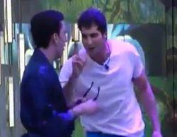 """Julián estalla contra Fran ('GH VIP 4'): """"Ojito con ponerte contento y decir cositas. Eres un impresentable"""""""