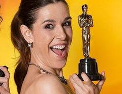 La risa de Raquel Sánchez Silva, protagonista involuntaria de los Oscars 2016 en Movistar+