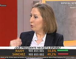 'La marimorena' (3,3%) lidera el prime time con la visita de Ana Pastor