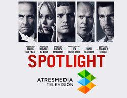 """Atresmedia estrenará la oscarizada """"Spotlight"""""""