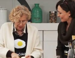 Manuela Carmena llega a Canal Cocina el sábado 12 de marzo