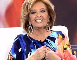 María Teresa Campos defiende a Malú tras la polémica por sus declaraciones en '¡Qué tiempo tan feliz!'