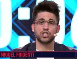 Miguel Frigenti, primer descartado por el público para entrar en 'Gran hermano VIP'